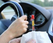 Personne conduisant sous l'emprise de stupéfiants