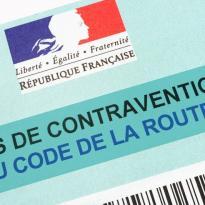 Contravention au code de la route